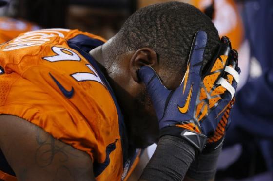 Estado de espírito de Denver reflectido por Malik Jackson.